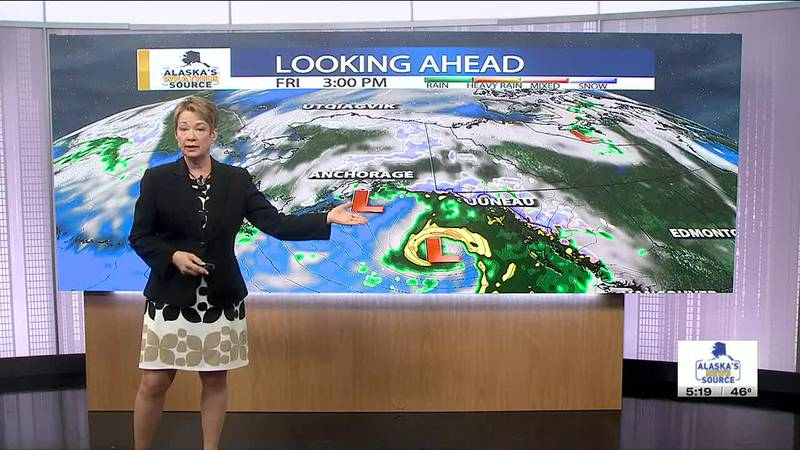 The weather report with Jackie Purcell.