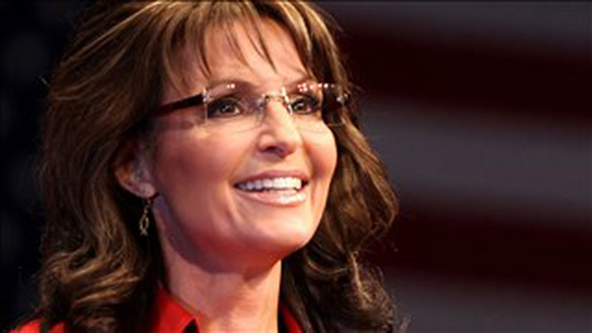 PHOTO: Sarah Palin speaking at CPAC in Washington D.C., Photo Date: 02/11/2012 - Cropped Photo:...