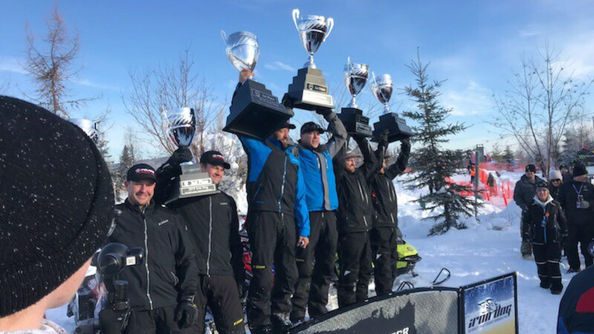 Chris Olds and Mike Morgan have won Iron Dog 2018 in Fairbanks (MK Burgess / KTUU)
