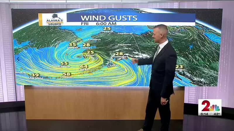 Friday, October 8 Morning Weather