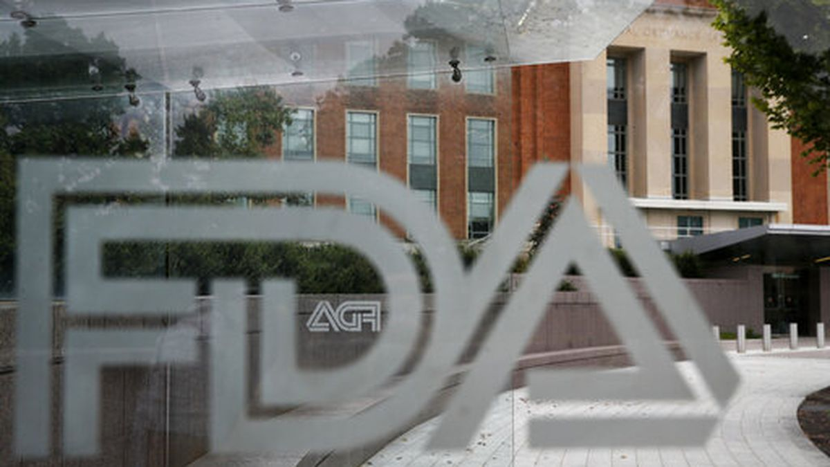 FILE - This Aug. 2, 2018, file photo shows the U.S. Food and Drug Administration building...
