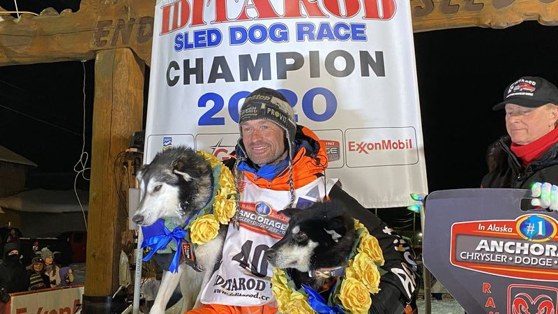 Thomas Waerner is the 2020 Iditarod Champion.