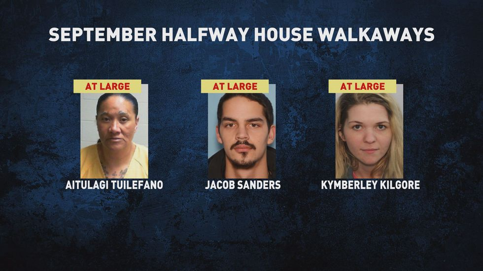 As of Thursday morning, Sept. 17, 2020, APD said three people who walked away from halfway...