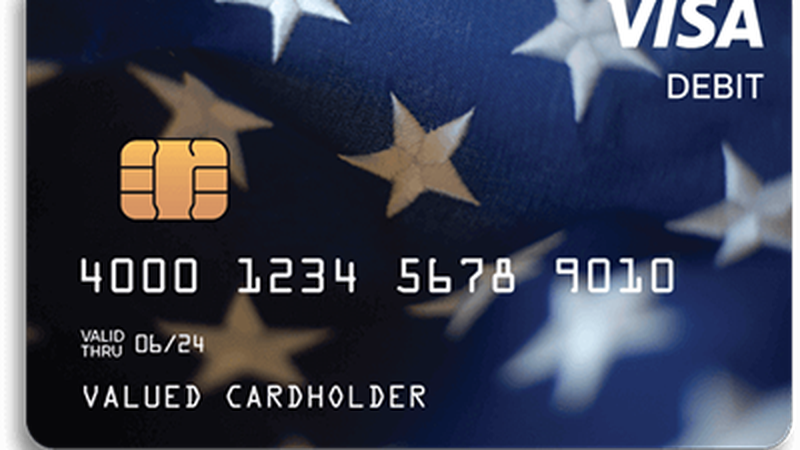 The federal economic impact payment could come in the form of a VISA debit card.