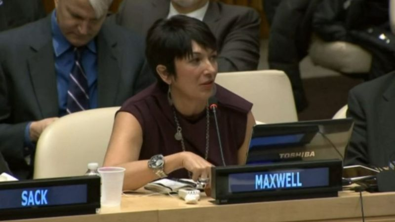 FILE – This image from file video shows Ghislaine Maxwell.