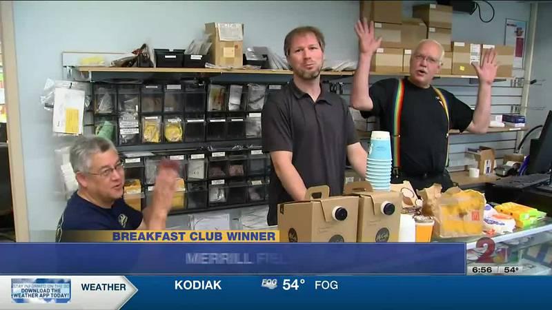 Congratulations to this week's breakfast club winner, Merrill Field Instruments.