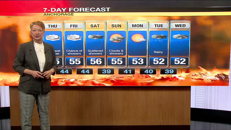 Fall weather means rain and even snow in northern parts of the state.