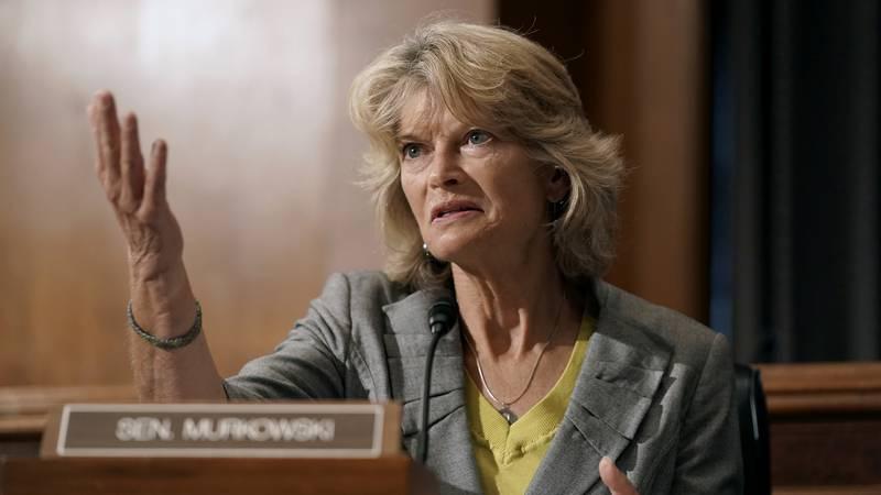 Sen. Lisa Murkowski, R-Alaska, speaks during a Senate Health, Education, Labor and Pensions...
