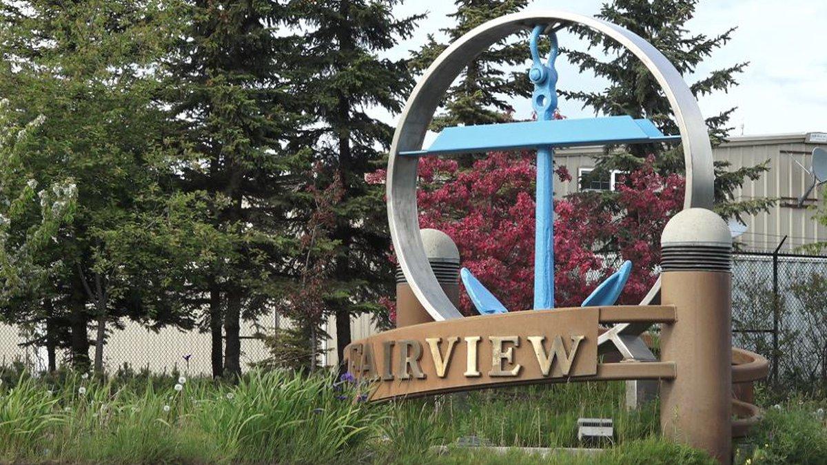 Fairview neighborhood in Anchorage, Alaska.