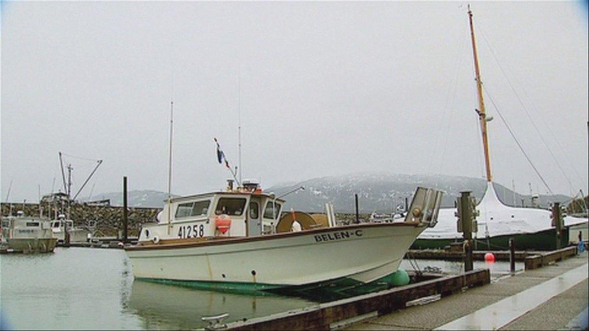 A boat in the harbor of Cordova, Alaska.