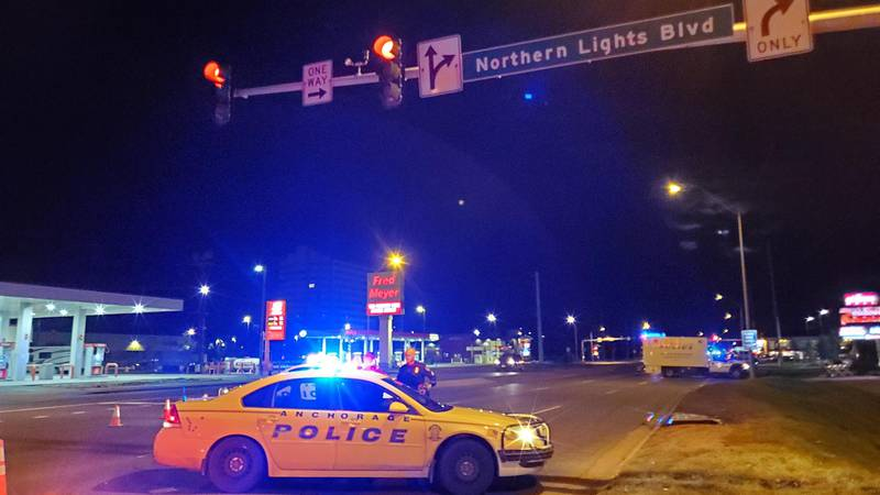 Anchorage police investigate the death of pedestrian in hit-and-run collision on Friday, Sept....