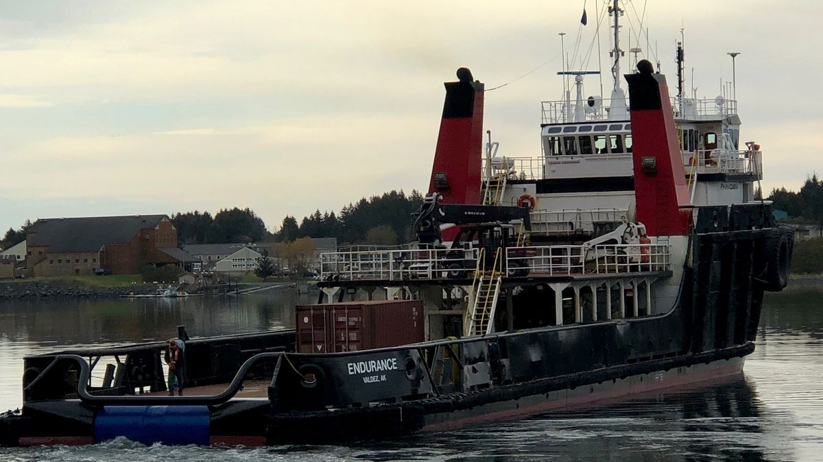 The Endurance is a 5750 horsepower tugboat sent to investigate the wreckage of the Scandies...