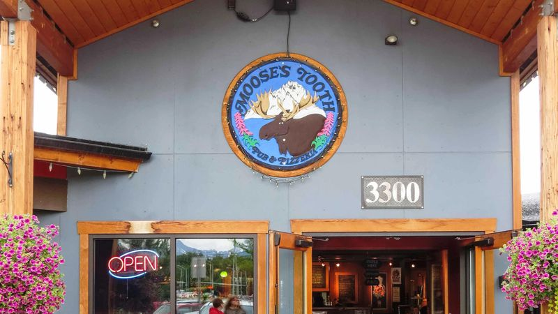 Moose's Tooth Pub and Pizzeria in Anchorage, Alaska.