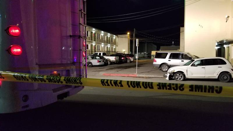 The Anchorage police are investigating a Saturday, Oct. 23, 2021 shooting in Downtown...
