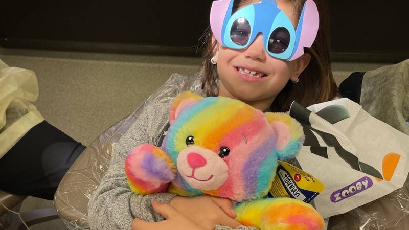 Kids under the age of 18 received free preventative dental care at UAA's dental clinic.