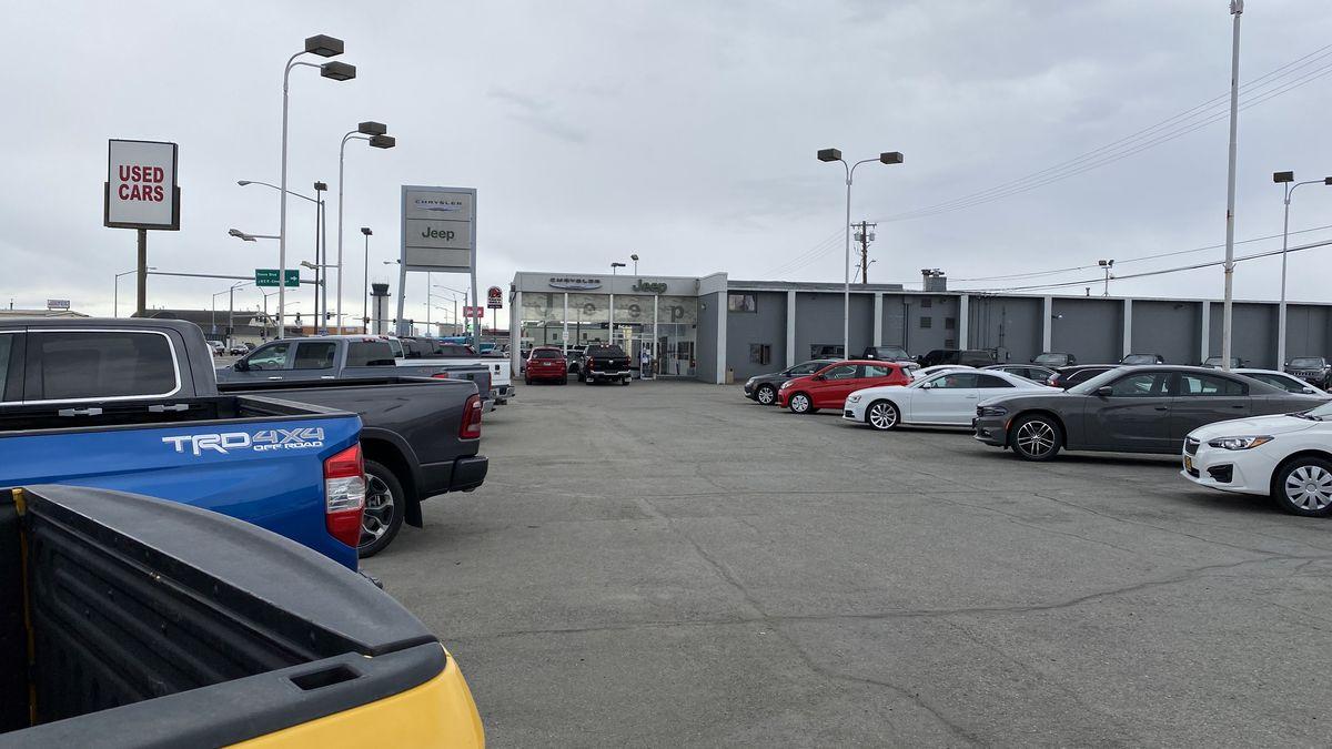 Anchorage Chrysler Dodge Jeep Ram dealership.