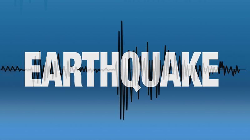 An earthquake struck southern New England on Sunday.