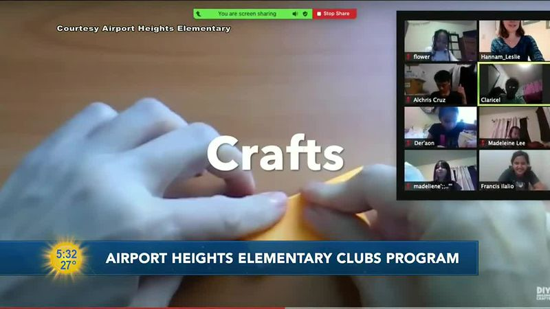 Airport Heights Elementary school in Anchorage is running a series of after school programs for...