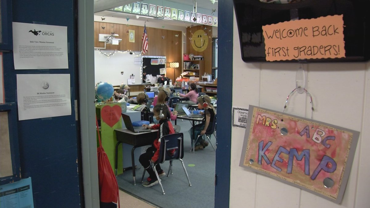 The Anchorage School District says it's looking for more employees to help keep classrooms open.