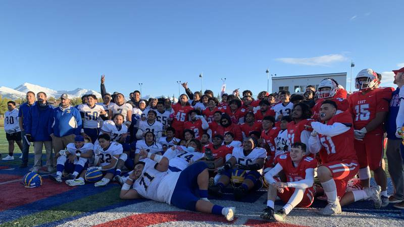 East keeps the boot