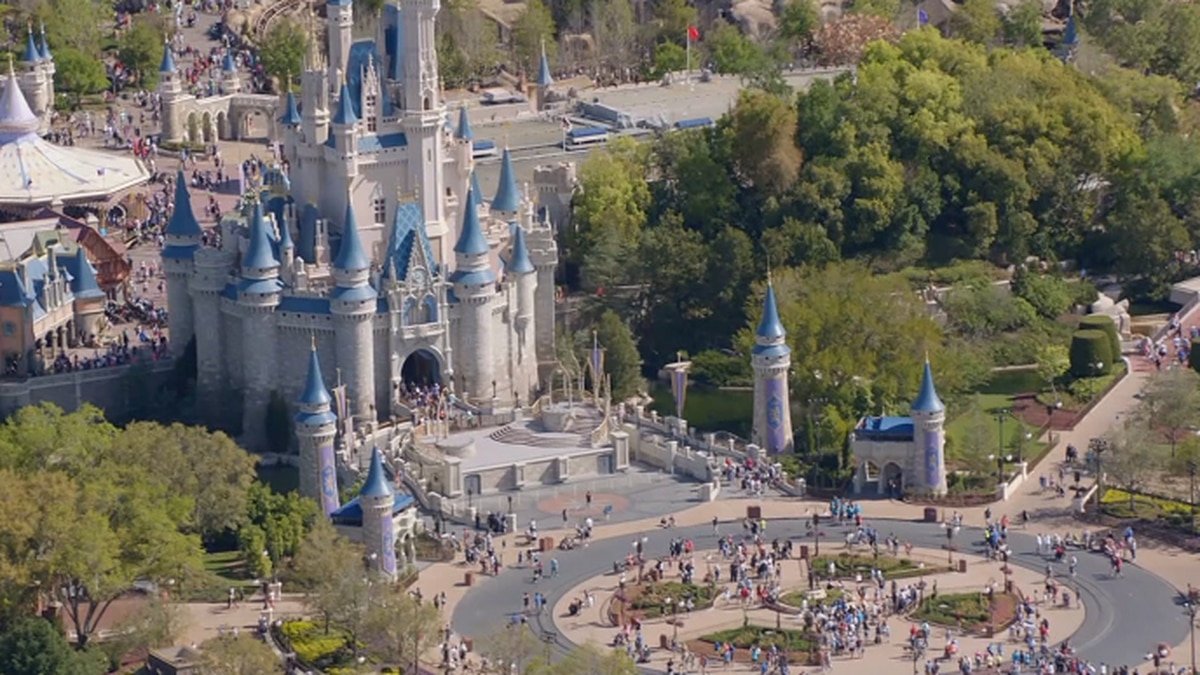 Disney World now only accepting reservations beginning in July. (Source: CNN)