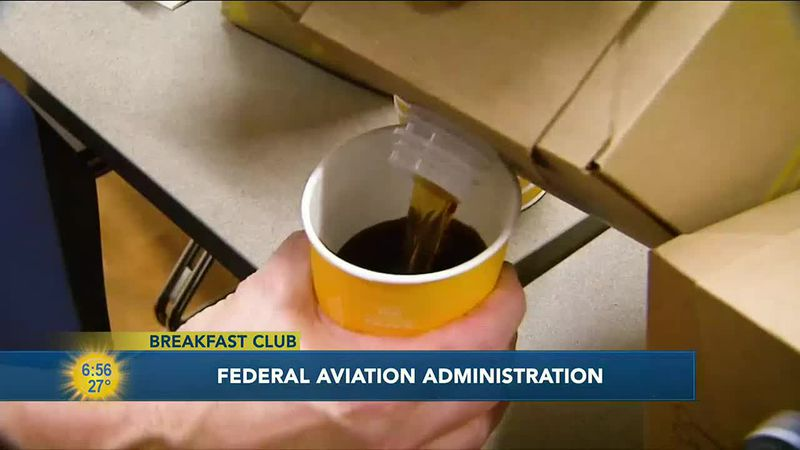 Congratulations to this week's breakfast club winner, the Federal Aviation Administration of...