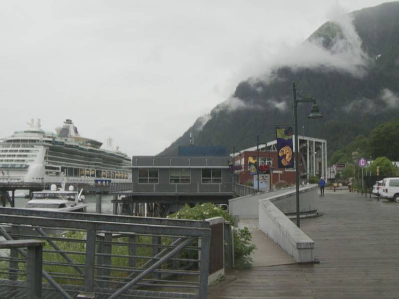 The Serenade of the Seas in Juneau on July, 23, 2021.