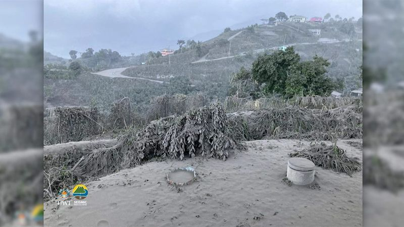 After two consecutive eruptions of the La Soufrière volcano in St. Vincent, the island nation...