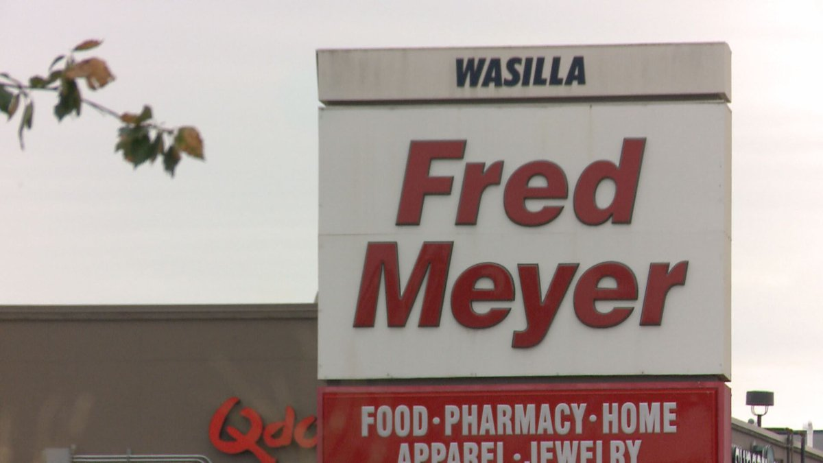 The Fred Meyer store located in Wasilla, Alaska.