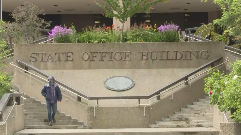 State Office Building in Juneau, Alaska.