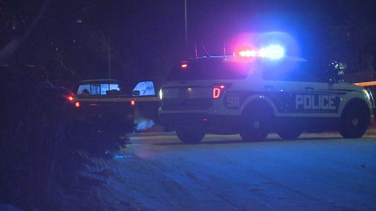 Anchorage police investigate a shooting inside a truck, initially reported as a double homicide. Later, authorities said the two men shot one another.