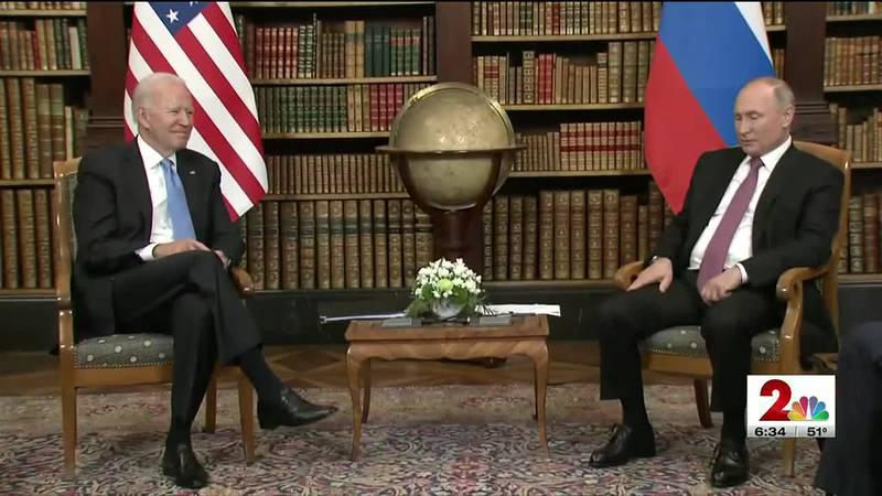 DC correspondent Jon Decker was in Geneva for the summit between President Joe Biden and...