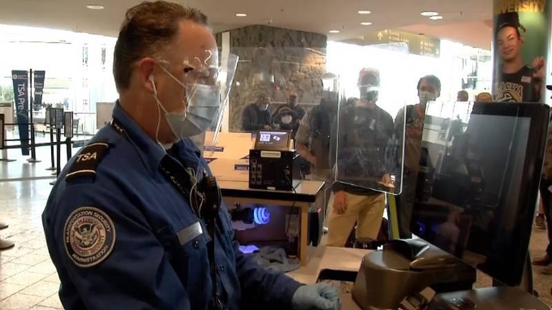 TSA employee at Ted Stevens Anchorage International Airport