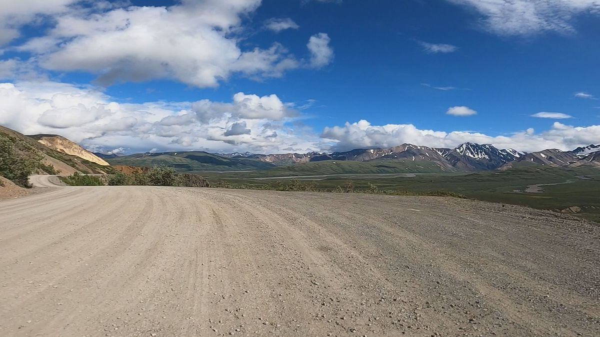 This summer, the National Park Service has opened up the first 66 miles of the Denali Park...
