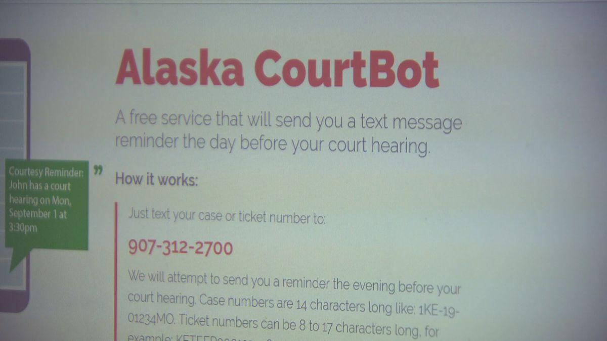 Alaska CourtBot