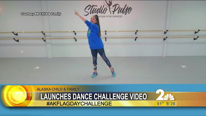 Ak Flag Day dance challenge tutorial.