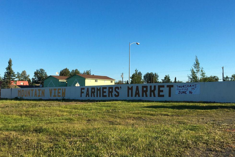 Mountain view farmers market