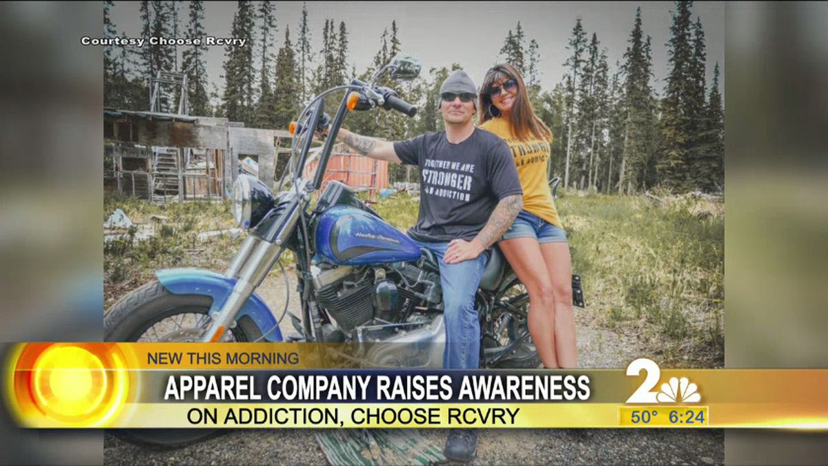 Choose RCVRY apparel out of Soldotna, AK.