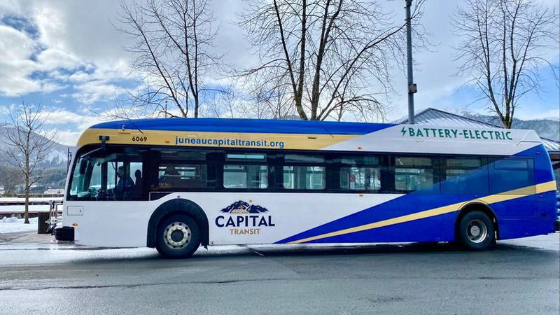First battery-electric bus hitting the roads April 14.