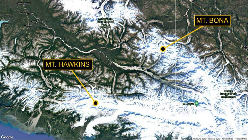 12 were recently rescued from Wrangell-St. Elias National Park.