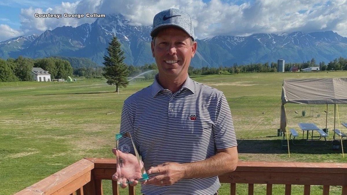 Greg Sanders, AK State Amateur Golf champion