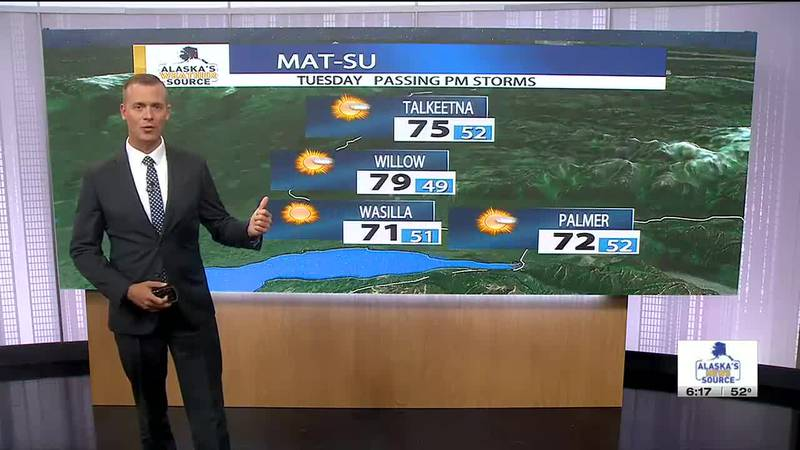 Tuesday, June 15 Morning Weather