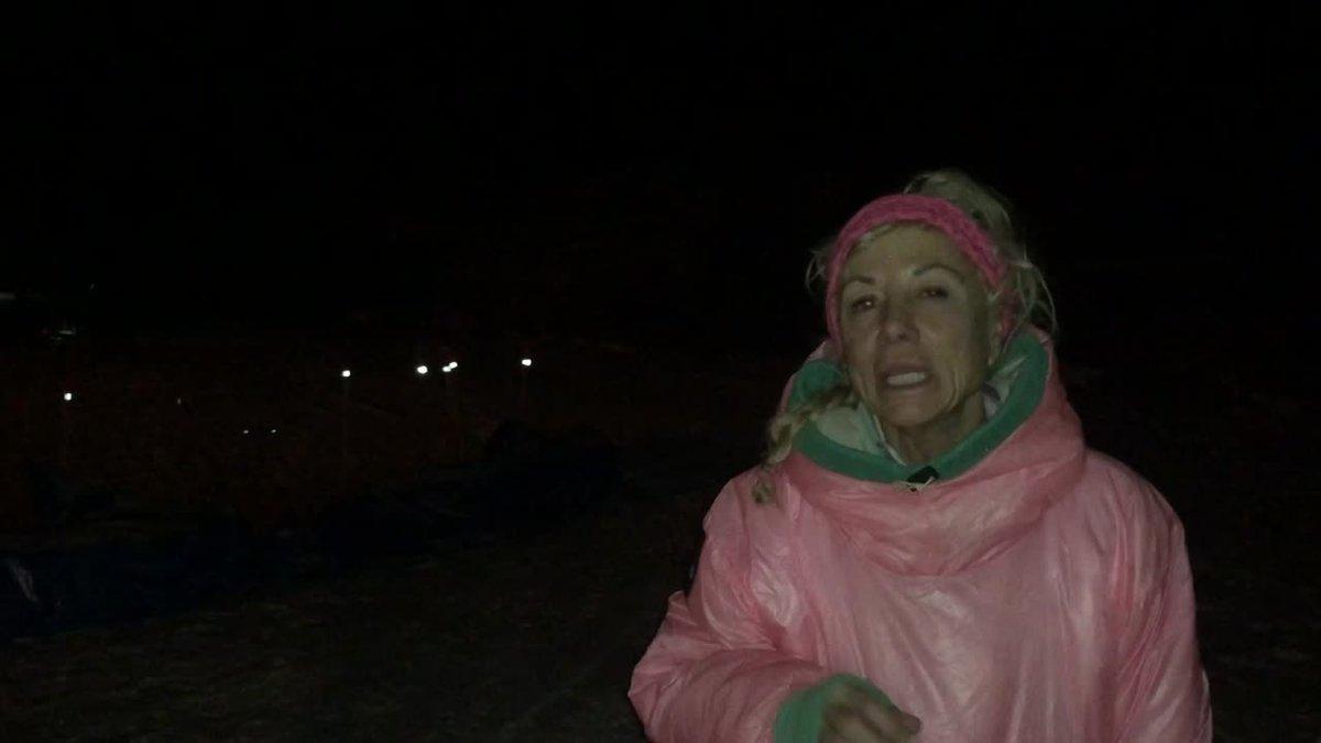 DeeDee Jonrowe talks about trail conditions from Shaktoolik to Koyuk. (KTUU)