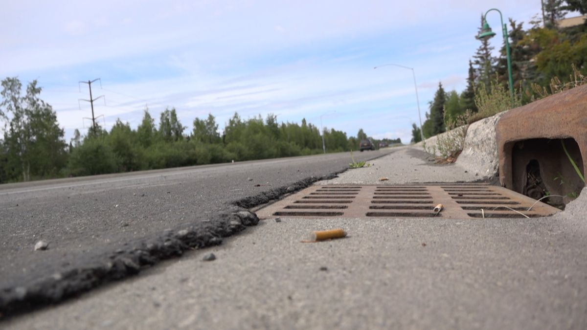 More than 30 storm drains in Anchorage have been vandalized over the last month. All on DOT...