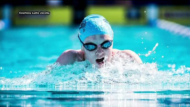 Seward swimmer Lydia Jacoby is among the best in the country in the 100-meter breaststroke.