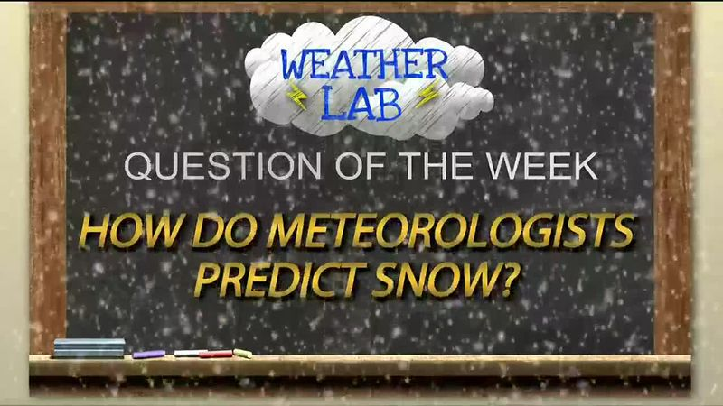 Weather Lab: Romig Middle School students learn how snow predictions are made