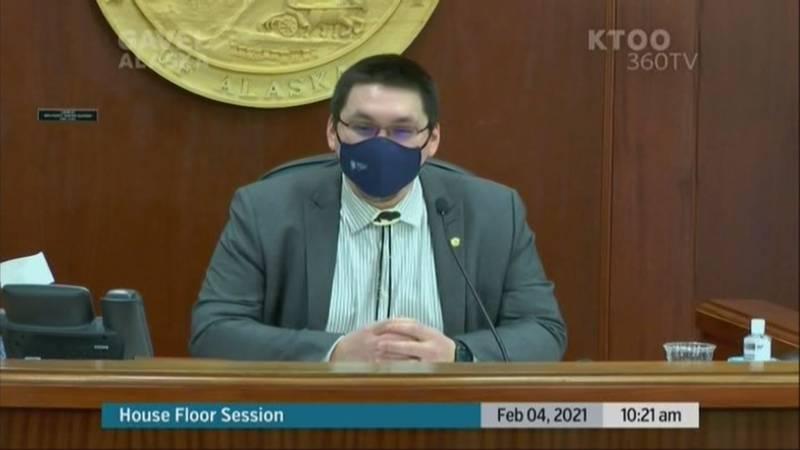 Rep. Josiah Patkotak, I-Utqiagvik, was elected speaker pro tempore of the Alaska House of...