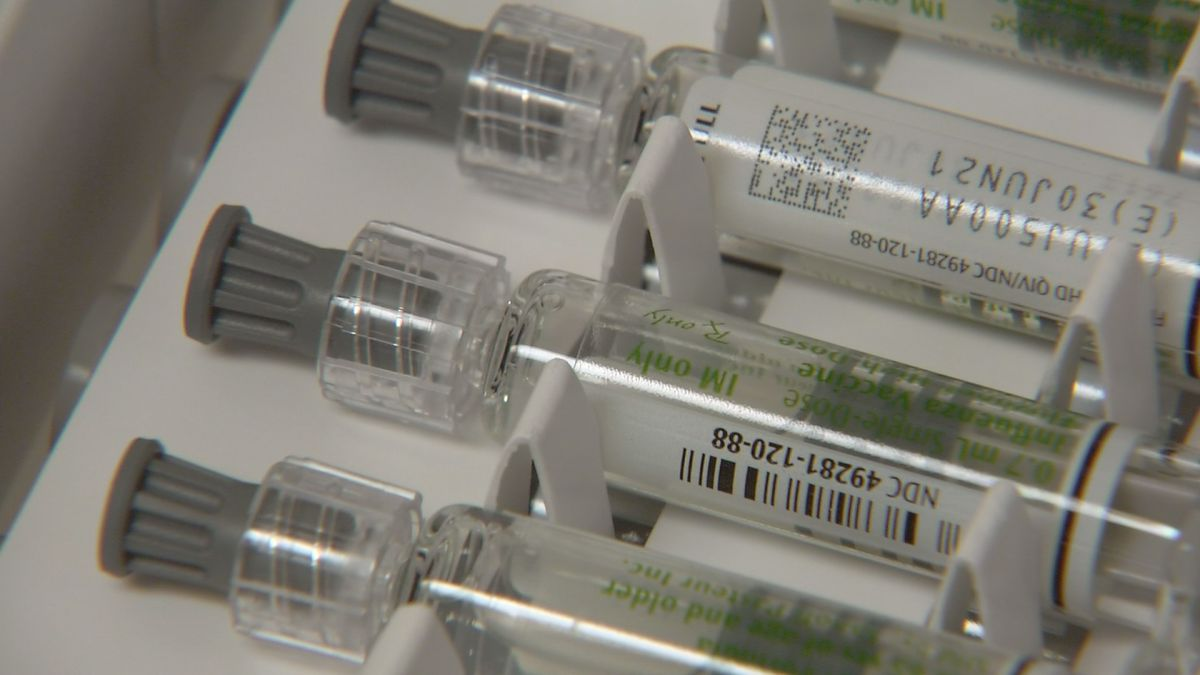 The State has run out of high dose flu vaccine designed for seniors.