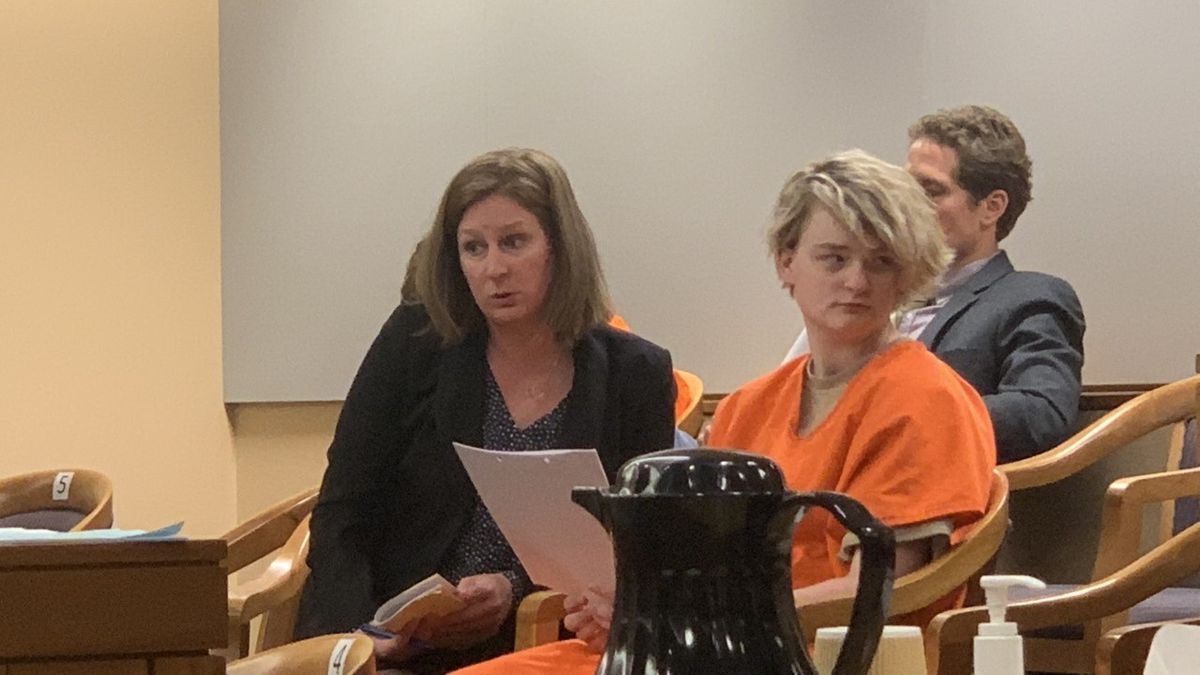 Denali Brehmer appears in state court June 18, 2019. (KTUU)