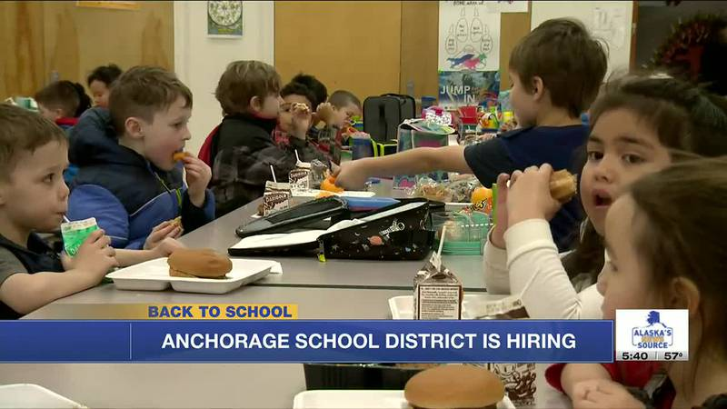 The Anchorage School District is facing a large worker shortage ahead of the coming school year.